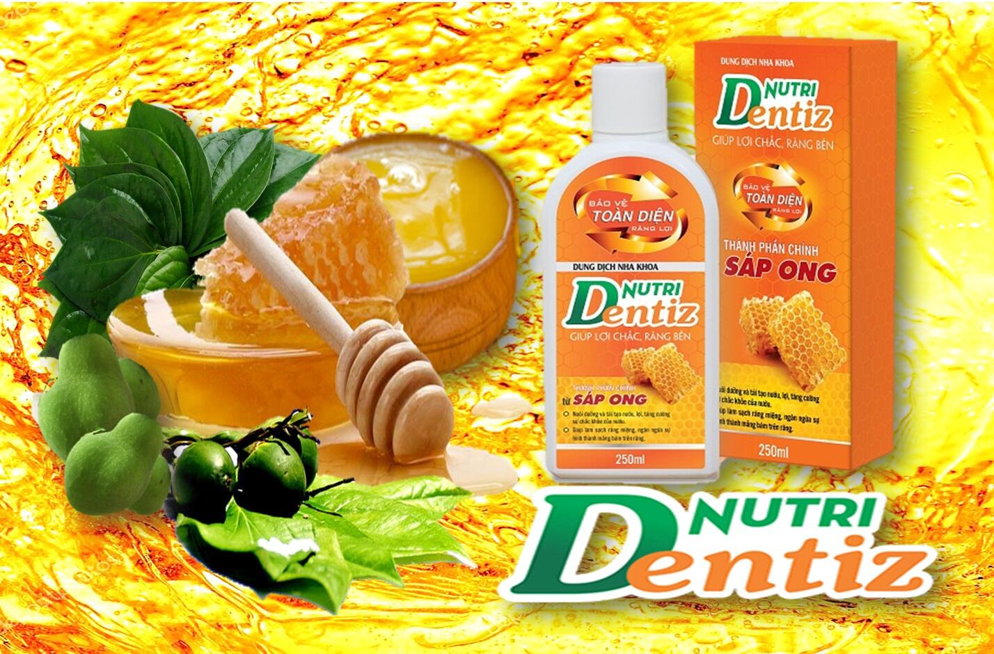 Nutridentiz – Giải pháp số 1 cho răng lợi luôn chắc khỏe
